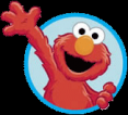 Elmo waving