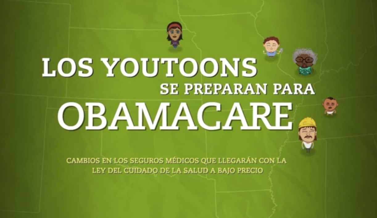 Youtoons Affordable Care Act in Spanish Video