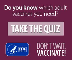 Take a quiz from the Center for Disease Control.